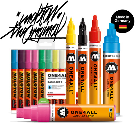 Marcadores Permanentes One4All Molotow